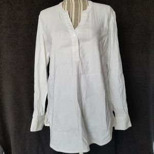 NWT Tommy Bahama linen blend blouse